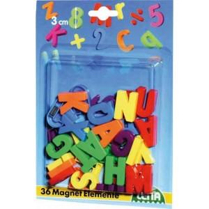 Magnetické písmena veľké, 30 mm