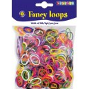 Gumičky Loops - mix, 1000 ks