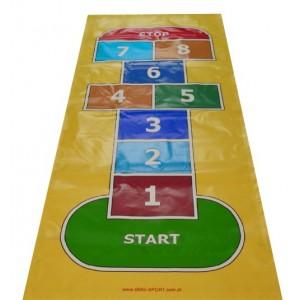 Mega skákacia podlahová hra Škôlka