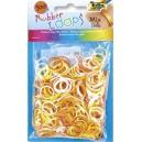 Gumičky Loops - dúhové, blüten 500 ks