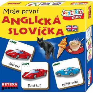 Pexetrio KIDS Moje první anglická slovíčka