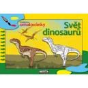 Didaktická maľovanka Svet dinosaurov
