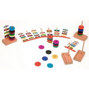 Magnetické disky pre 4 hráčov