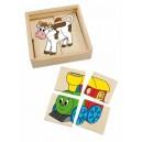 Minipuzzle Vláčik