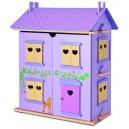 Domček pre bábiky drevený