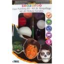 Farby na tvár Halloween