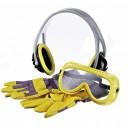 Súprava - slúchadlá, rukavice, okuliare Bosch