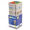 Grafitové ceruzky HB box, 72 ks
