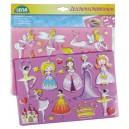 Kresliace šablóny princezné, baletky