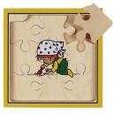 Štvorvrstvové puzzle Slnečnica