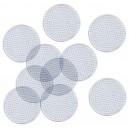 Podložky pre zažehlovacie korálky Kruhy, 10 ks