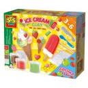 Výroba zmrzlín z aromatickej plastelíny