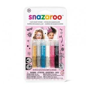 Ceruzky na tvár 6 ks, ružové