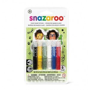 Ceruzky na tvár 6 ks, zelené