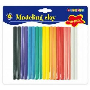 Modelovacia hmota, 18 farieb