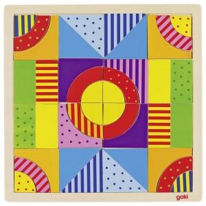 Drevená mozaika Svet farieb