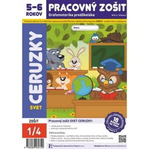 Svet ceruzky, grafomotorika pre 5-6 ročné deti
