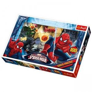 Trefl 100 - Spiderman - Únik