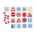Drevené pexeso Dopravné značky
