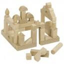 Mini drevené stavebné kocky