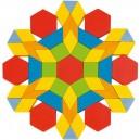 Skladačka Geometrické tvary, 250 ks