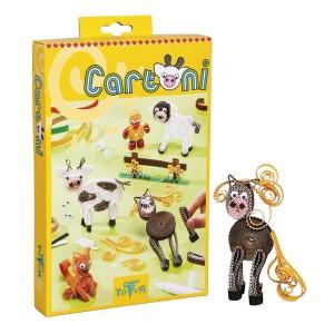 Zvieratká z kartónu CARTONI