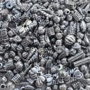Korálky s kovovým vzhľadom, 200 ks