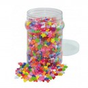 Korálky plastové v dóze, 2100 ks