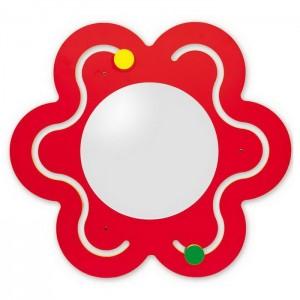 Nástenný labyrint Kvet so zrkadlom