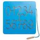 Grafomotorický labyrint Čísla