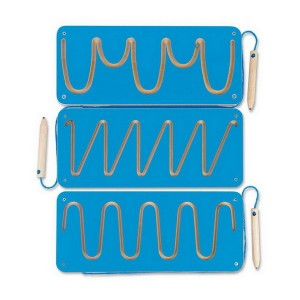 Magnetické bludiská, modrý set