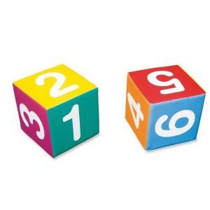 Hracia kocka s číslicami, 30 cm