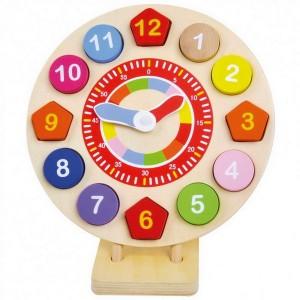 Puzzle Drevené hodiny
