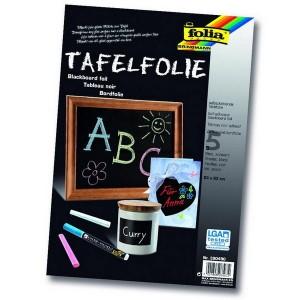 Samolepiaca tabuľová fólia A4, 5 ks