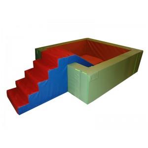 Suchý bazén Exclusive, 200x200 cm + schody