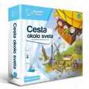 Kúzelné čítanie-Hra cesta okolo sveta