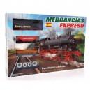 Pequetren Merchandises Express - historický parný vlak