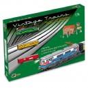 Pequetren Merchandises Train – historický nákladný vlak so železničnou stanicou