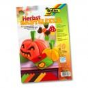 Folia Filcové farebné hárky A4 Jesenné, 10 ks