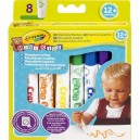 Crayola Mini Kids - Fixky, 8 ks