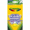 Crayola Super tenké fixky, 8 ks