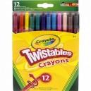 Crayola Twist voskovky vyprateľné 12 ks