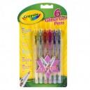 Crayola Ligotavé gélové perá, 6 ks