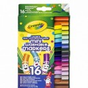Crayola Mini super fixky, 16 ks
