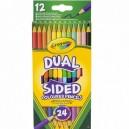 Crayola Pastelky obojstranné, 24 ks