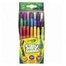 Crayola Twist voňavé mini voskovky, 21 ks