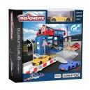 Majorette Garáž Pitstop Vision Gran Turismo + 1 autíčko