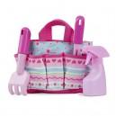 Melissa & Doug - Záhradný set v taške - rúžový