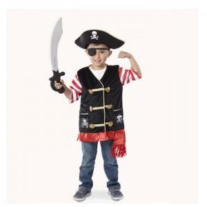 Melissa & Doug - Kompletný kostým - Pirát