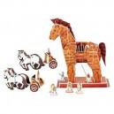 Legler 3D puzzle Trojský kôň